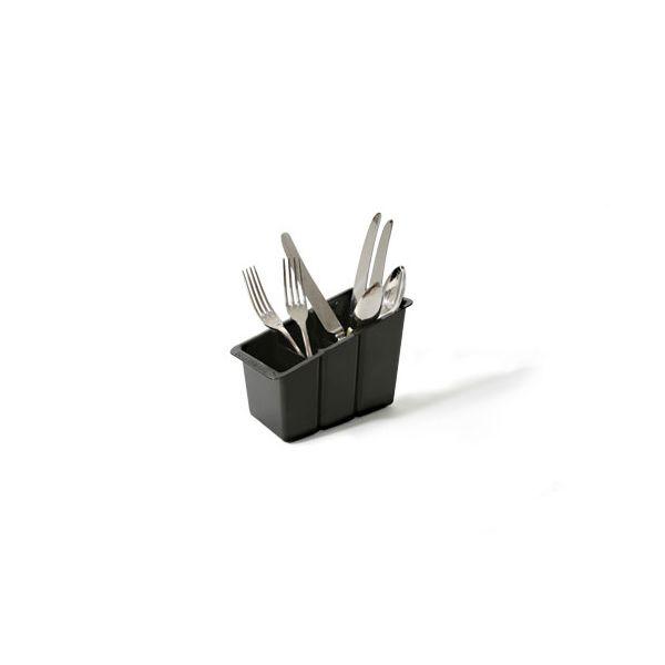 Delfinware Black Plastic Cutlery Basket