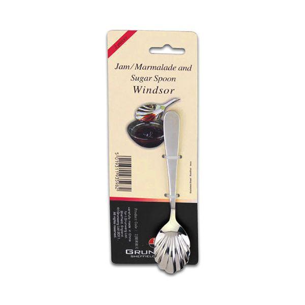 Grunwerg Windsor Set Of 2 Jam / Marmalade / Sugar Spoons
