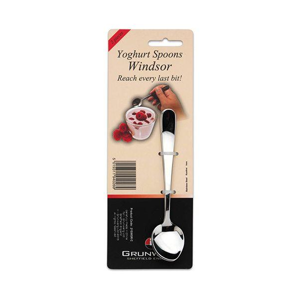 Grunwerg Windsor Set Of 2 Yoghurt Spoons