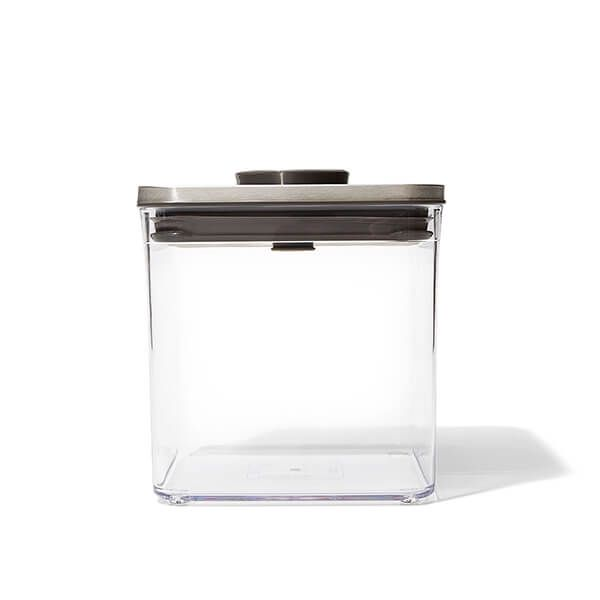 OXO Good Grips Steel POP Big Square Short 2.6L Storage Container