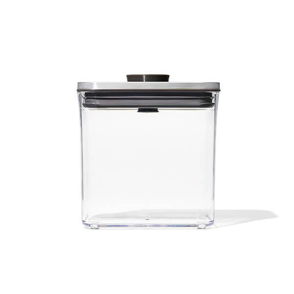 OXO Good Grips Steel POP Container Rectangle Short 1.6L Storage Container