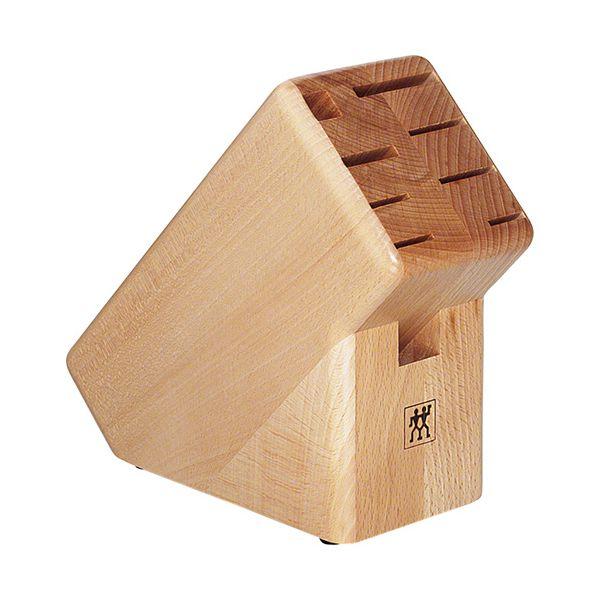 Henckels 9 Slot Beech Knife Block