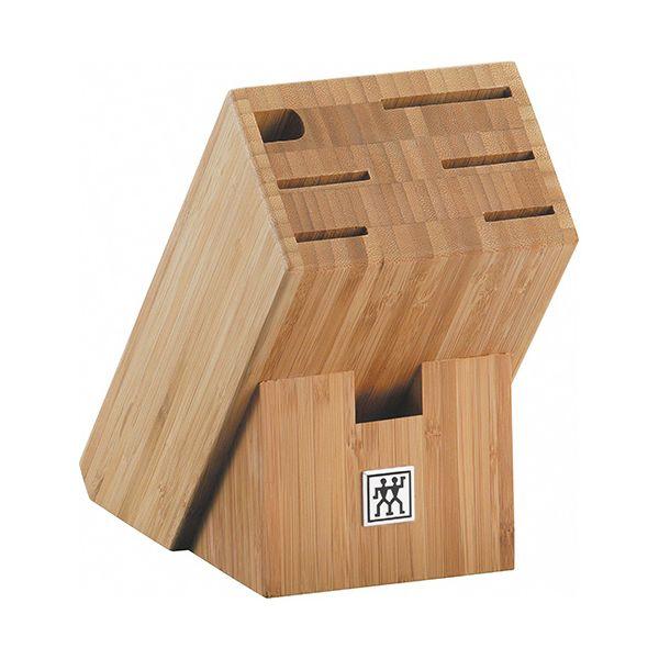 Henckels 7 Slot Bamboo Knife Block