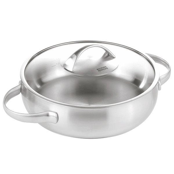 Kuhn Rikon Daily 28cm / 5L Buffet Pan with Glass Lid