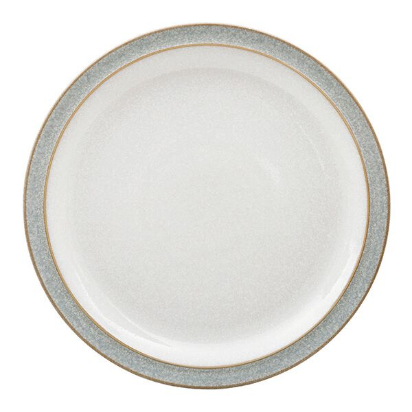 Denby Elements Light Grey Medium Plate