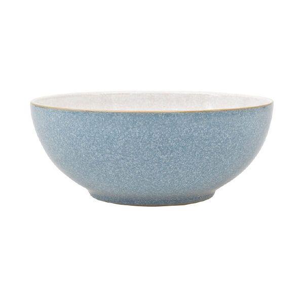 Denby Elements Blue Coupe Cereal Bowl