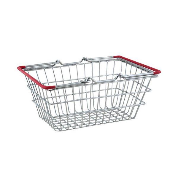 Apollo Chrome Mini Shopping Basket