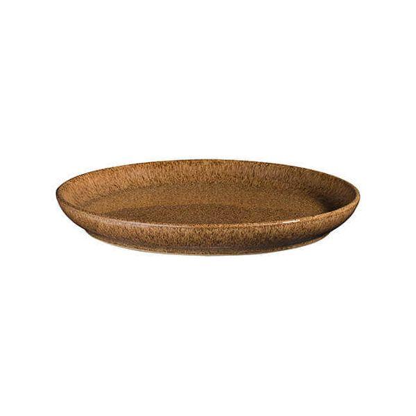 Denby Studio Craft Chestnut Medium Coupe Plate