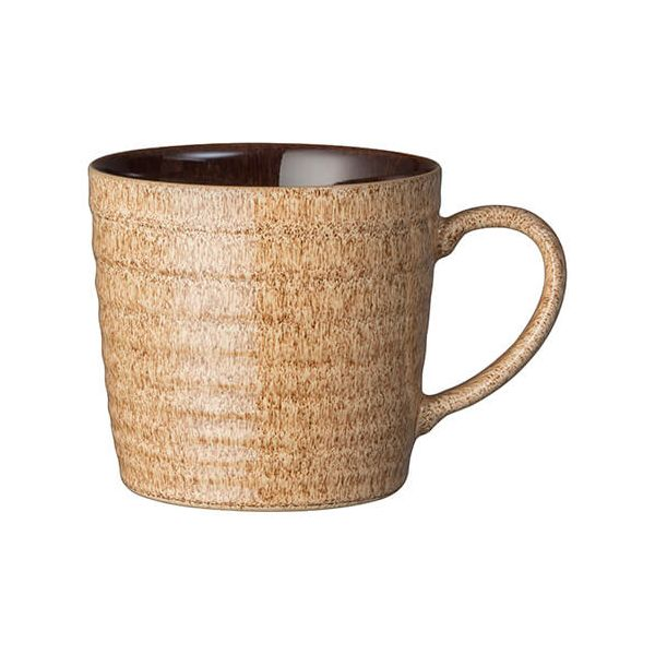 Denby Studio Craft Walnut Alt Ridged Mug