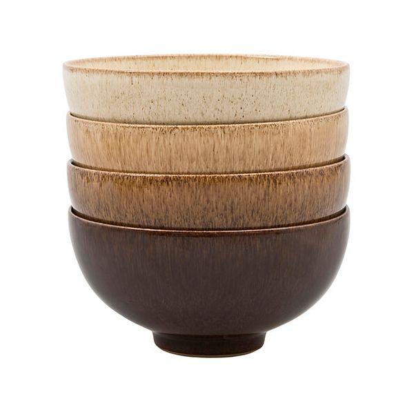 Denby Studio Craft 4 Piece Rice Bowl Set