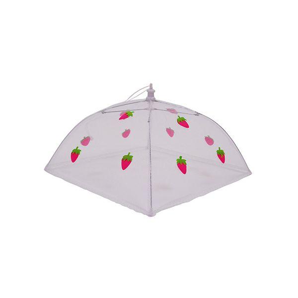 Epicurean Strawberry 30cm Folding Food Umbrella