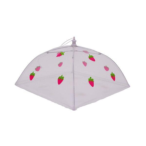 Epicurean Strawberry 48cm Folding Food Umbrella