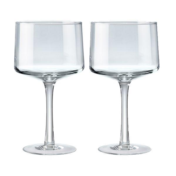 Denby Natural Canvas Set Of 2 Gin Glasses