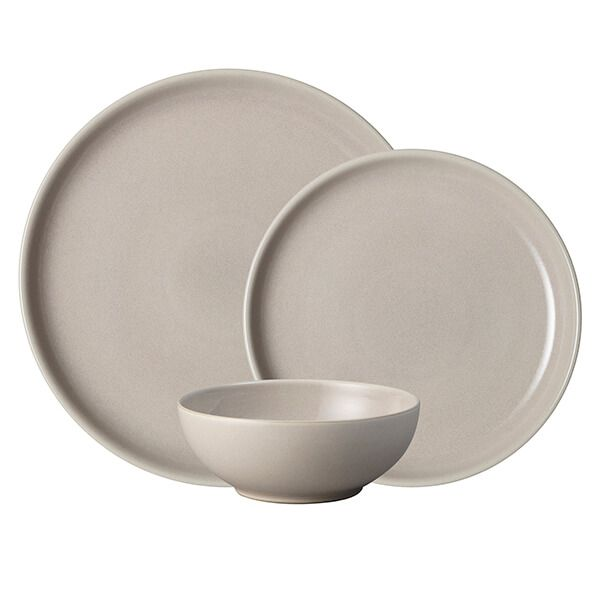 Denby Intro Taupe 12 Piece Tableware Set
