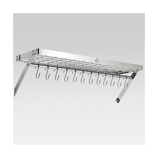 Hahn Chrome Metal XL Wall Rack