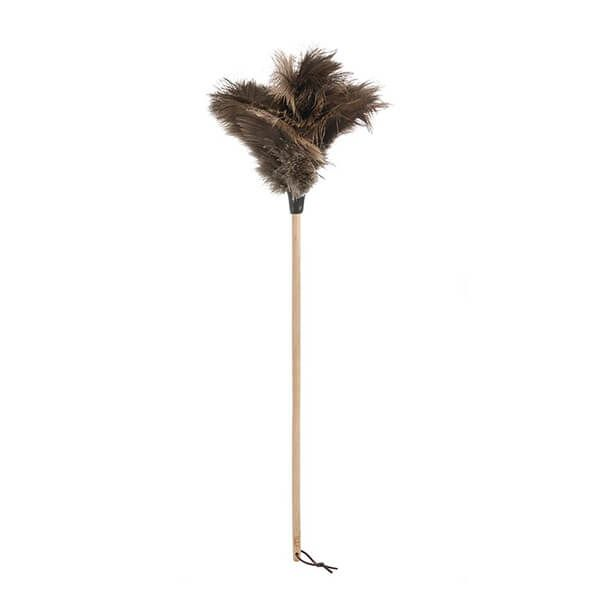 Valet Ostrich Feather Duster Beech Handle 75cm
