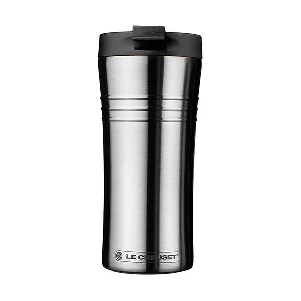 Le Creuset Black Stainless Steel Travel Mug