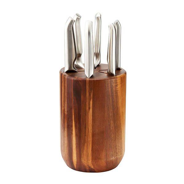 Furi Pro 7 Piece Capsule Knife Block Set
