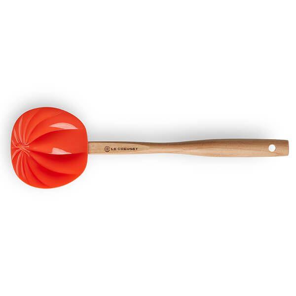 Le Creuset Volcanic 28cm Pumpkin Spatula Spoon