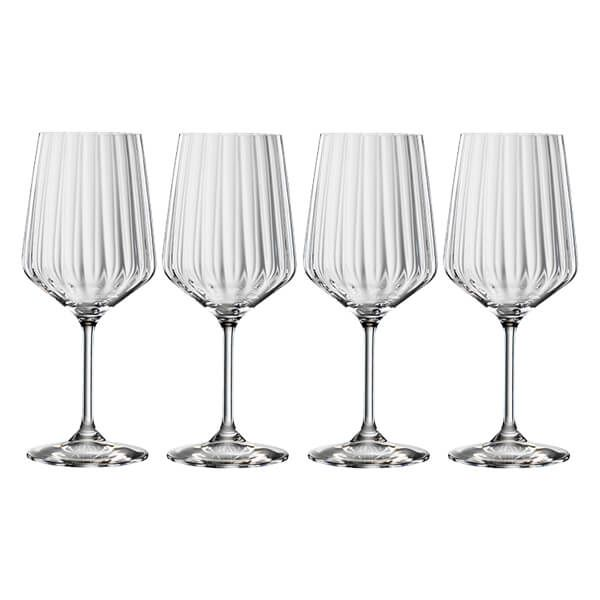 Spiegelau LifeStyle Red Wine Glasses Set Of 4