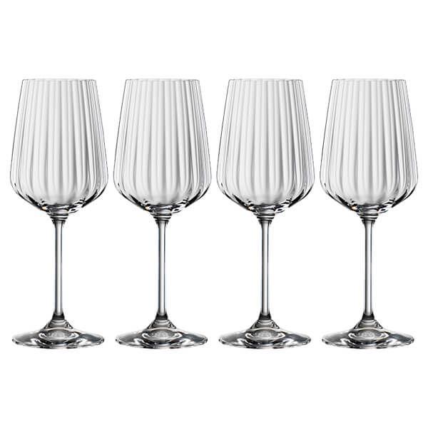 Spiegelau LifeStyle White Wine Glasses Set Of 4