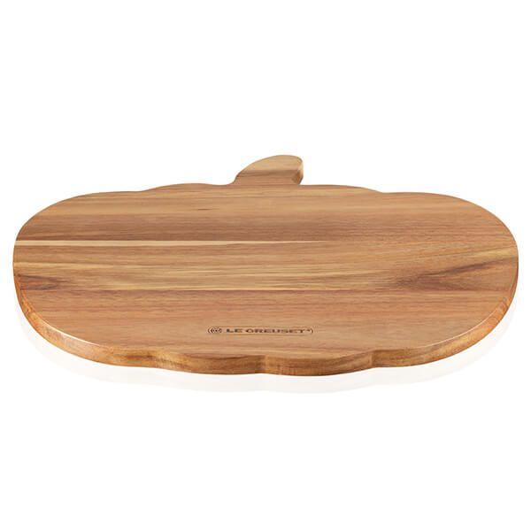 Le Creuset Acacia Wood Pumpkin Tray