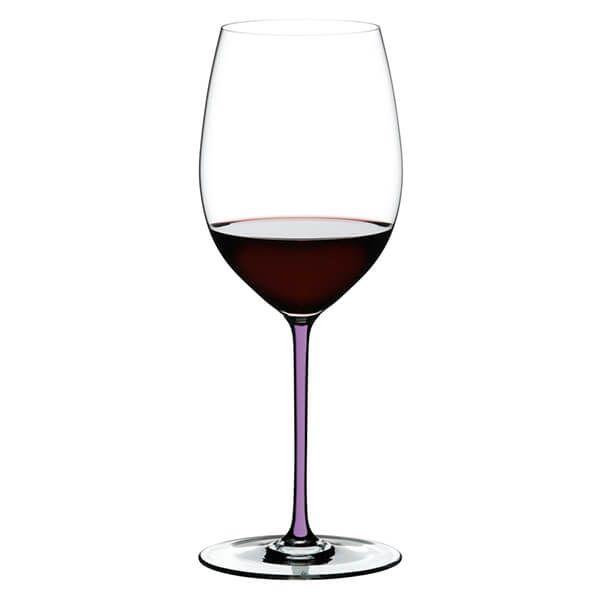 Riedel Hand Made Fatto a Mano Cabernet / Merlot Wine Glass Violet