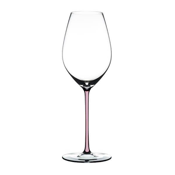 Riedel Hand Made Fatto A Mano Champagne Wine Glass Pink