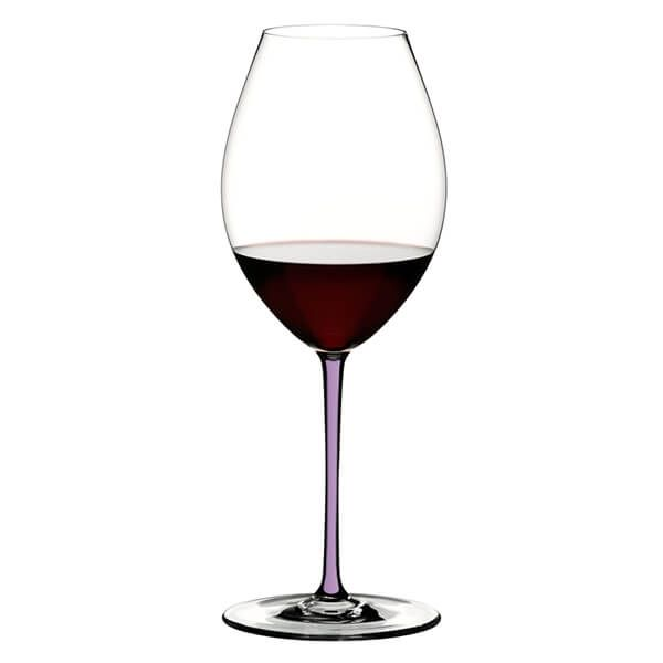 Riedel Hand Made Fatto a Mano Old World Syrah Wine Glass Violet