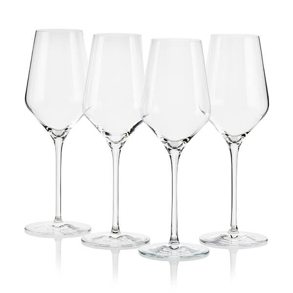 Le Creuset White Wine Glasses Set of 4