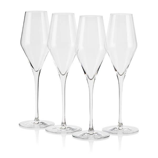 Le Creuset Sparkling Wine Flutes Set of 4