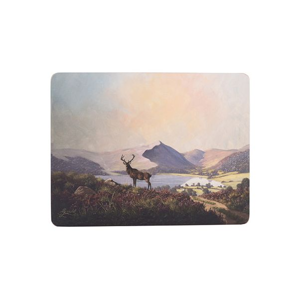 Creative Tops Highland Stag Set Of 6 Premium Table Mats