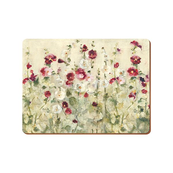 Creative Tops Wild Field Poppies Set Of 4 Large Premium Placemats
