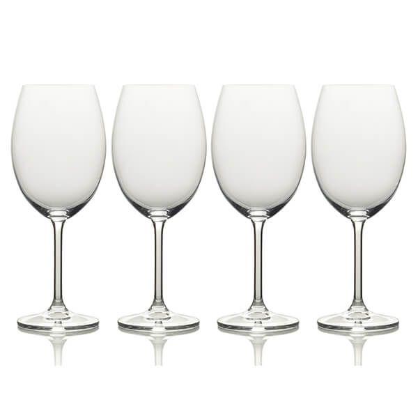 Mikasa Julie Set Of 4 25oz Red Wine Glasses