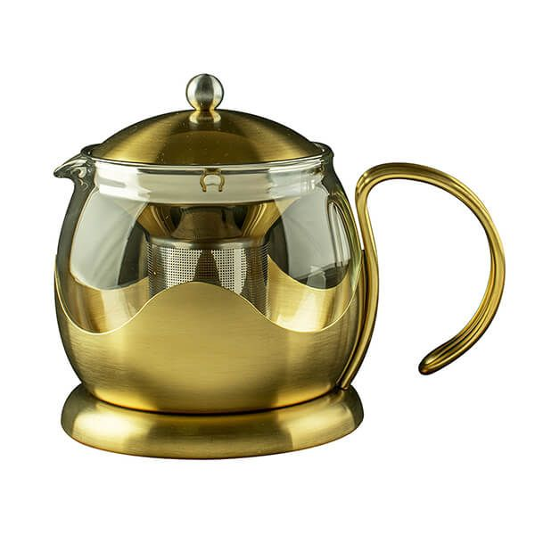 La Cafetiere Edited 660ml Le Teapot Brushed Gold