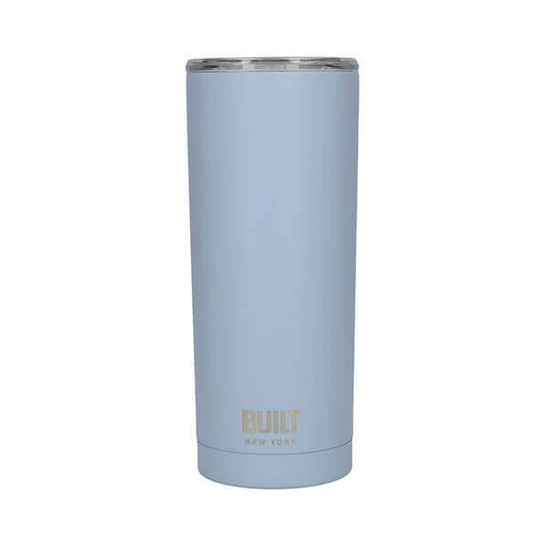 Built 568ml Double Walled Stainless Steel Travel Mug Arctic Blue
