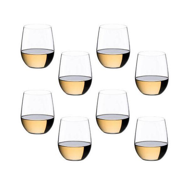 Riedel O Viognier / Chardonnay Wine Glass 8 Piece Set