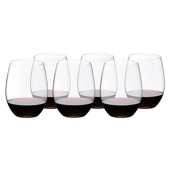 Riedel O 265 Year Anniversary Cabernet / Merlot Wine Glass Set Of 6