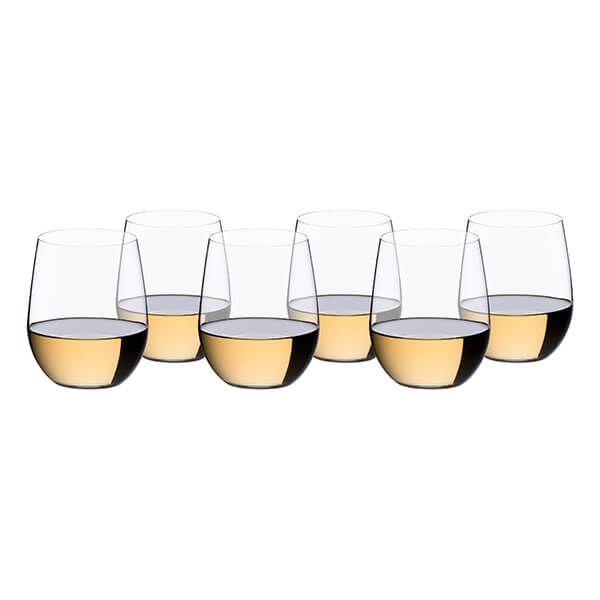 Riedel O 265 Year Anniversary Viognier / Chardonnay Wine Glass Set Of 6