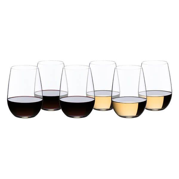 Riedel O 265 Year Anniversary Riesling / Sauvignon Blanc Wine Glass Set Of 6