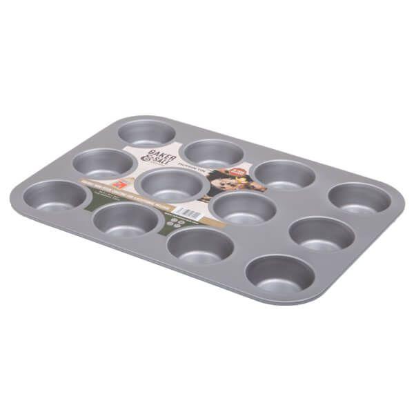 Baker & Salt Non-Stick 12 Cup Muffin Tin