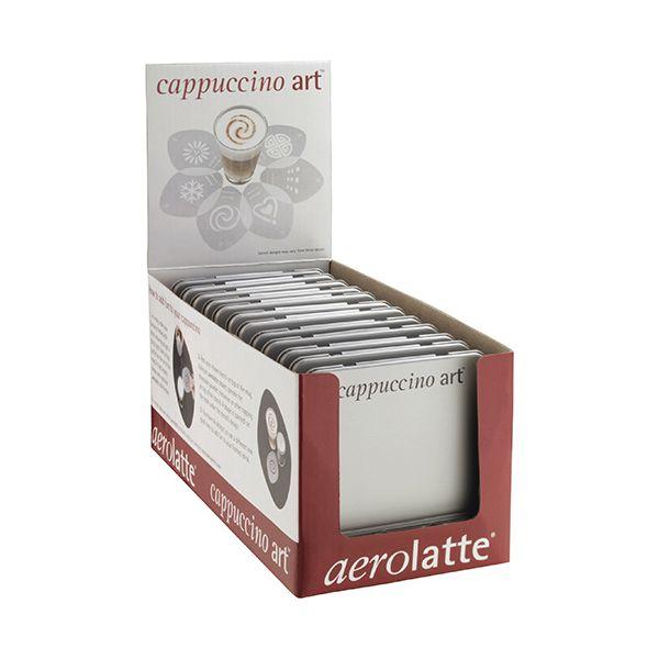 Aerolatte Cappuccino Art Set Of Six Stencils