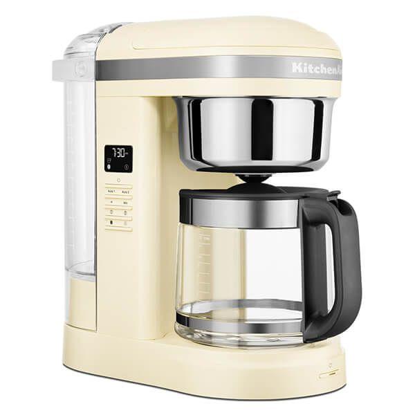 KitchenAid 12 Cup Drip Coffee Maker Almond Cream