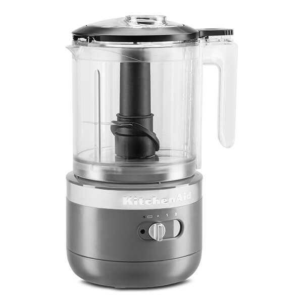 KitchenAid Charcoal Grey Cordless Food Chopper