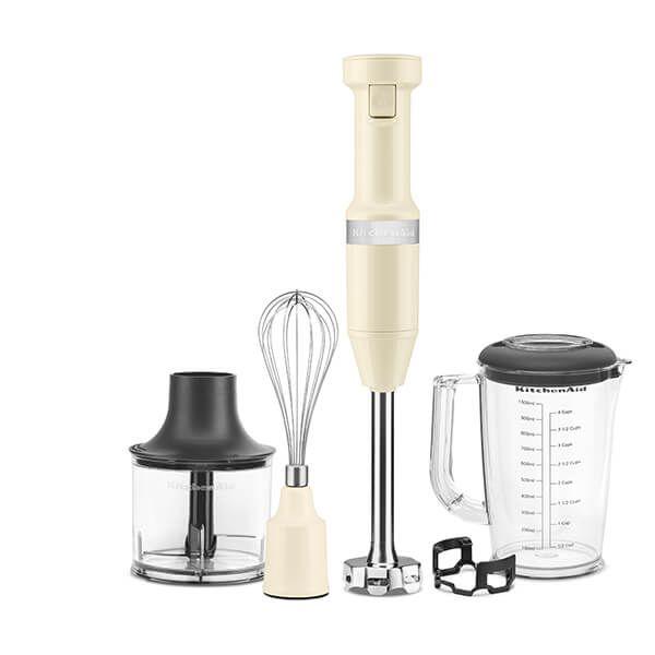 KitchenAid Almond Cream Corded Hand Blender