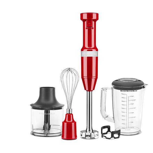 KitchenAid Empire Red Corded Hand Blender