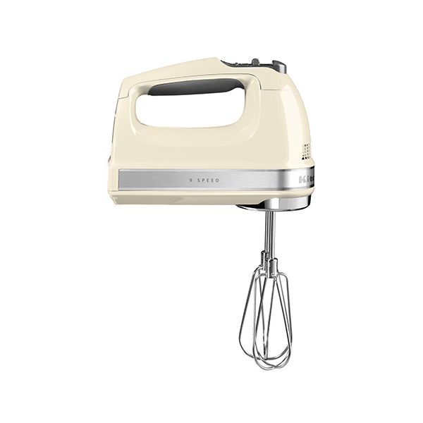 KitchenAid 9 Speed Hand Mixer Almond Cream