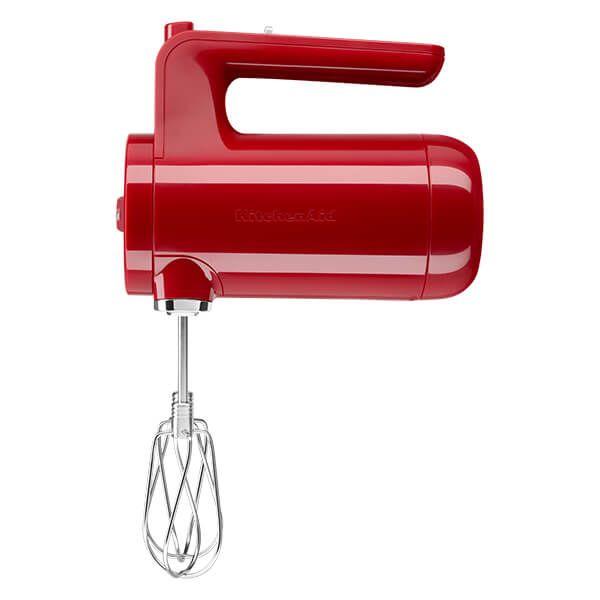 KitchenAid Empire Red Cordless Hand Mixer