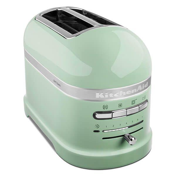 KitchenAid Artisan Pistachio 2 Slot Toaster