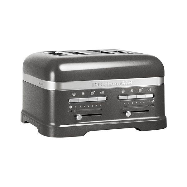 KitchenAid Artisan Medallion Silver 4 Slot Toaster